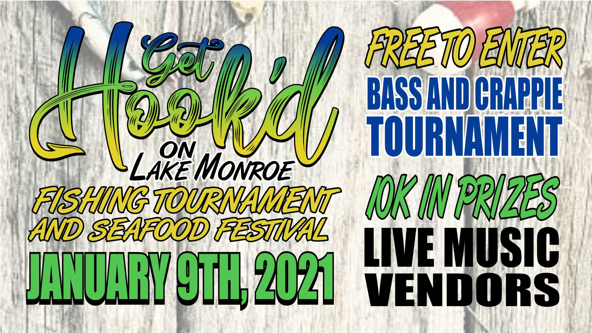 Get Hook'd Fishing Tournament & Seafood Festival